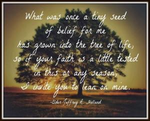 Faith~ Motivational Quote - Teach Beside Me