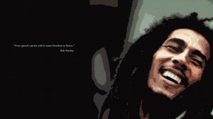 Download 1920x1080 Bob marley, Smile, Dreadlocks, Quote, Phrase ...