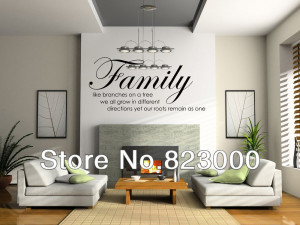 ... Tree Together Love wall Vinyl Sticker Home Decal Room quote Decor Art