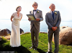 In sickness and Gandealth! Sir Ian McKellen officiated at the wedding ...