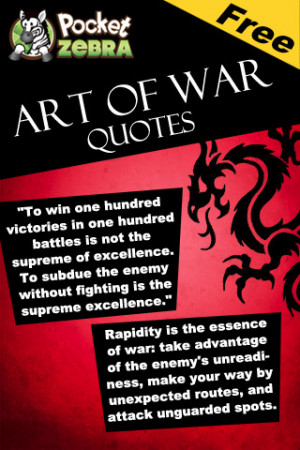 Download Art of War Quotes iPhone iPad iOS