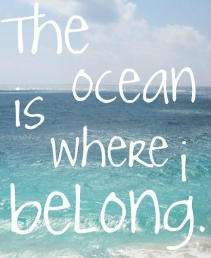 Quotes Ocean: We are tied to the ocean. And when we go back to the sea ...