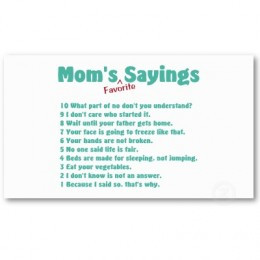 funny mother quotes and sayings
