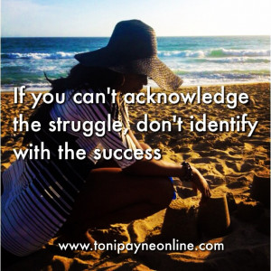 Picture Quote About People Who Only Identify with Success