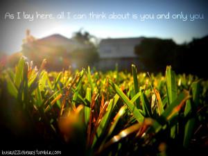 Backyard Cute Grass Love...