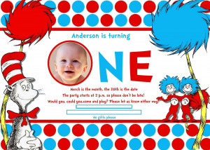 So we started with an adorable invitation seen here: