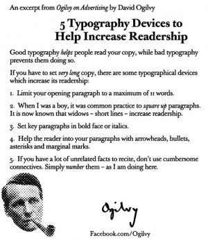 David Ogilvy Quotes, Memos and Letters
