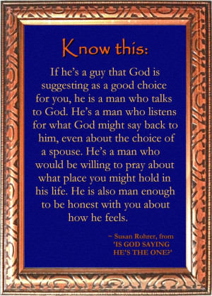 Godly Relationship Quotes Quote From is God Saying he 39 s