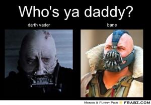 Darth Vader Bane Malgus...