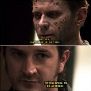 Lucifer and Gabriel | Supernatural quotes: Supernatural Quotes