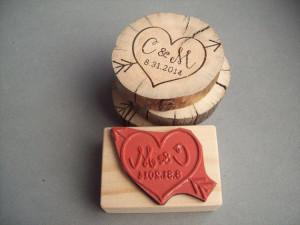 ... Cupid Heart, Weddings Anniversaries, Weddings Rubber Stamps, Gifts