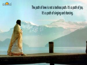 Quotes by Sri Sri Ravi Shankar on Divine Love