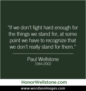 Paul wellstone quotes