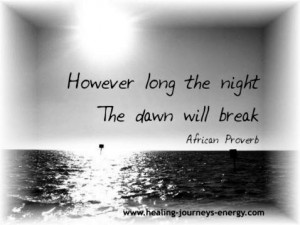 Inspirational Quotes - African Proverb