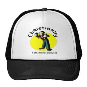Christianity, Talk more about it with mime Mesh Hats