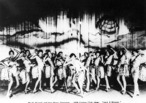 1929 publicity photo promoting a show at Harlem's Cotton Club shows ...