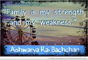 Family Strength Weakness