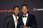 Ian Jackson and brother Trevor Jackson attends Trevor Jackson 39 s
