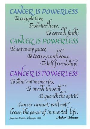 Cancer, Ovarian Cancer...the silent killer!