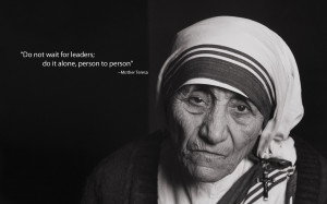 Remembering Blessed Mother Teresa of Calcutta (d. 9/5/1997)