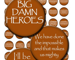 Firefly Quotes Phrases Serenity Whe don Digital Images Collage Sheet 1 ...