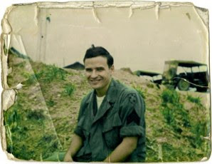 Brien in Vietnam. Photographer and date unknown.