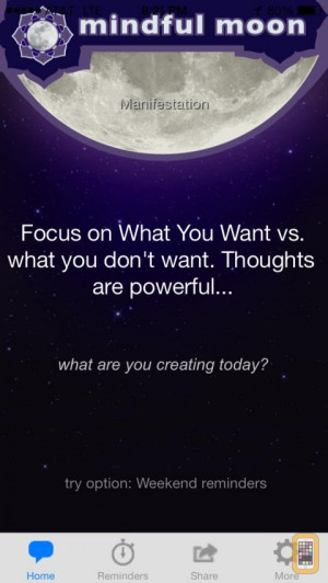 Mindful Moon - Stress Relief & Happiness through Inspirational Quotes ...