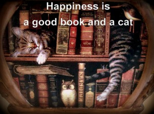 Tag Archives: cats-quotes-books-happiness-art