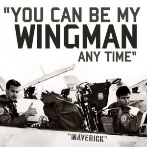 Top Gun Maverick and Goose.
