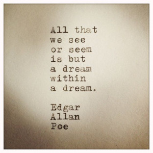 John Steinbeck East of Eden Quote Made on Typewriter by farmnflea