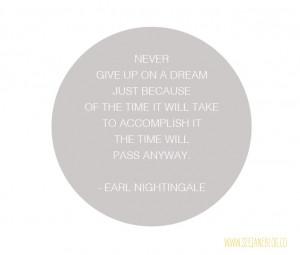 Earl Nightingale quote via seejaneblog