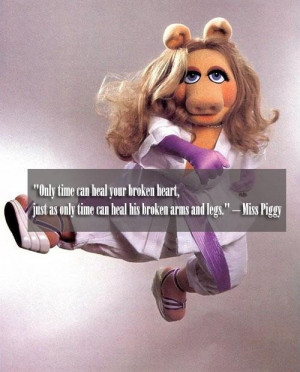 Miss piggy only time quote