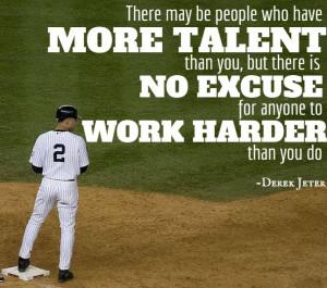 derek jeter quotes on hard work