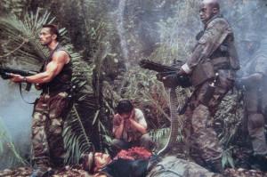 Arnold Schwarzenegger Carl Weathers Predator
