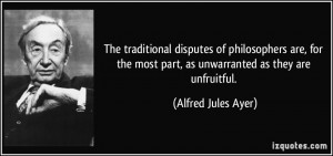 More Alfred Jules Ayer Quotes