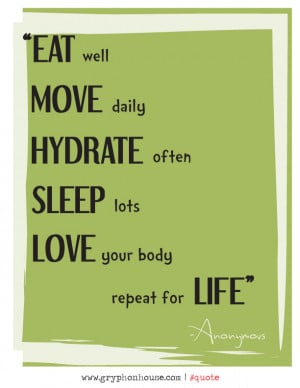 Quote of the Week _ Eat Move Hydrate