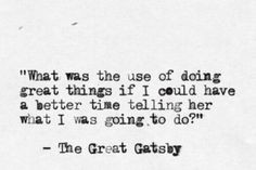 Quotes from The Great Gatsby