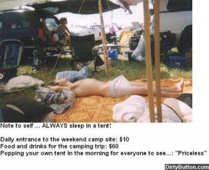 Priceless Tent