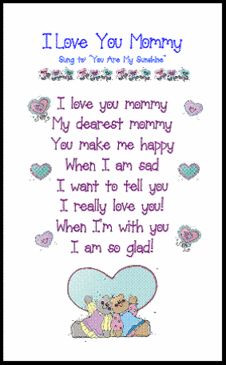 mother's day poem More