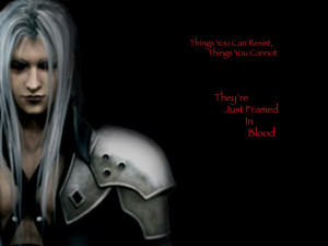 Sephiroth Wallpaper I made Background