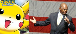Did Herman Cain End the GOP Debate With a Line From Pokemon