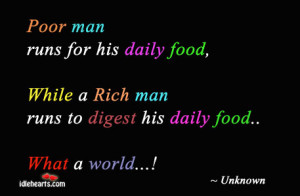 the Poor, Funny Quotes About Being Poor, As Poor as Sayings, Quotes ...