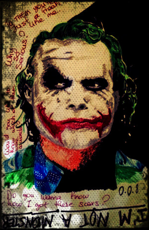 Heath Ledger Joker Quotes R.i.p heath ledger aka the