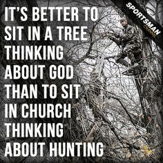 ... you can learn a lot from being 20 feet up. #Treestand #Hunting More