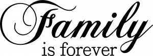 Family Journey Forever Quotes Sayings Wall Letters