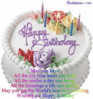 Happy Birthday, Birthday Wishes, Birthday Quotes, Birthday Cake ...