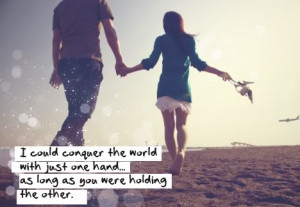 could conquer the world with just one hand... as long as you were ...