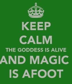 Magic is always alive.
