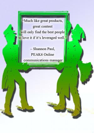 social media quotes Shannon Paul