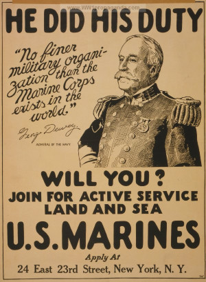 land and sea american ww1 propaganda posters ww1 marine posters